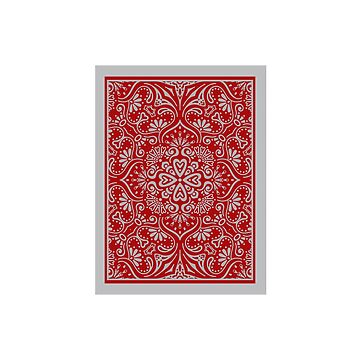 Ornamental Baroque Pattern Card | Digital Art by CarlosV