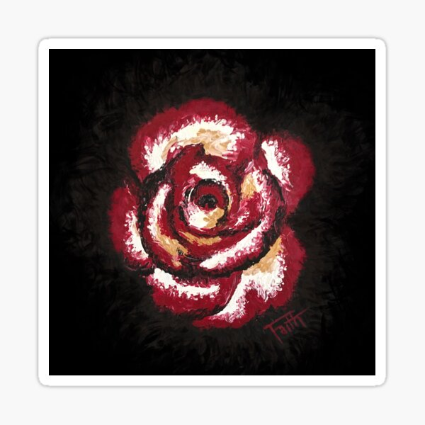 Lover's Rose Sticker