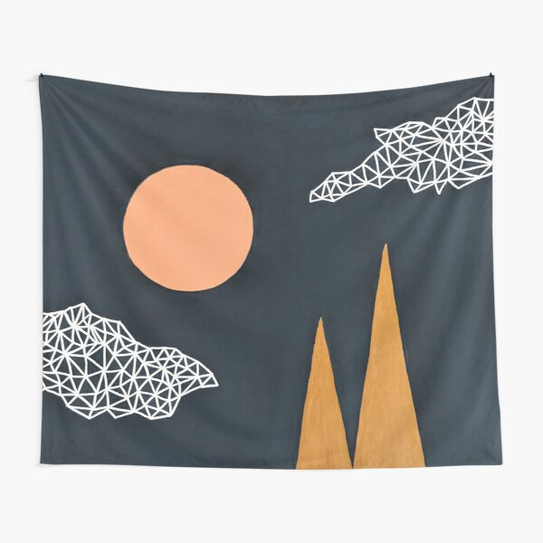 Geometric Series - Mountains Tapestry
