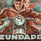 Vintage motorcycle advertising.. 1935 Zündapp by edsimoneit