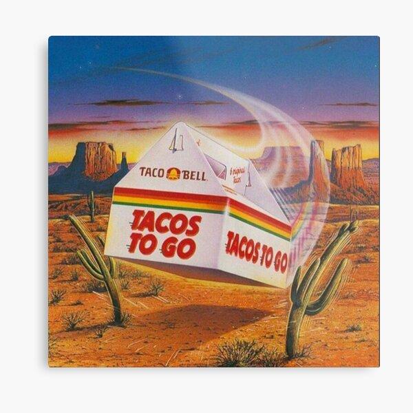 Taco Bell - Vintage Ad Metal Print