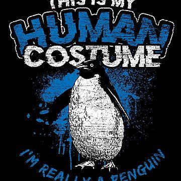 Penguin costume by GeschenkIdee