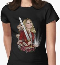 Emma Swan's Birthday Campaign Women's Fitted T-Shirt