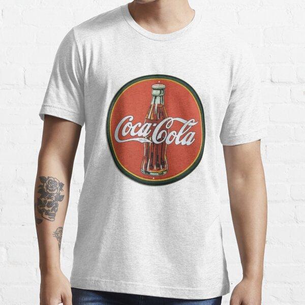 Coca-Cola Vintage Logo Essential T-Shirt