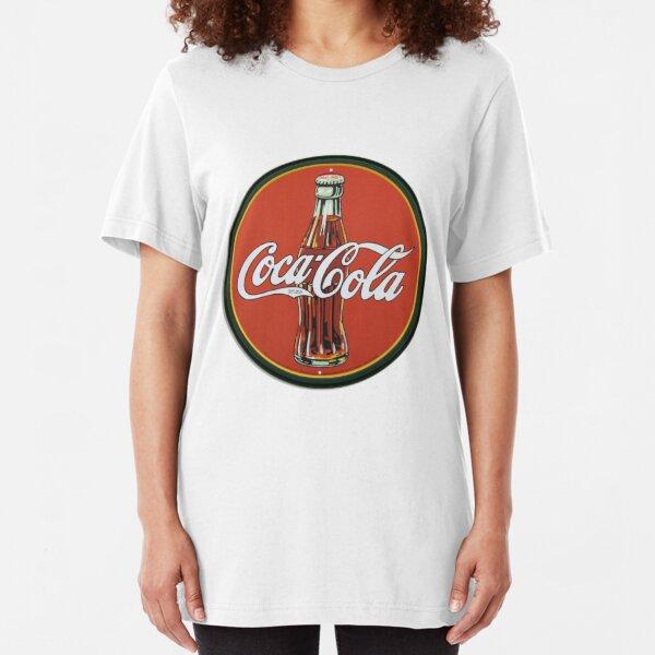 Coca-Cola Vintage Logo Slim Fit T-Shirt