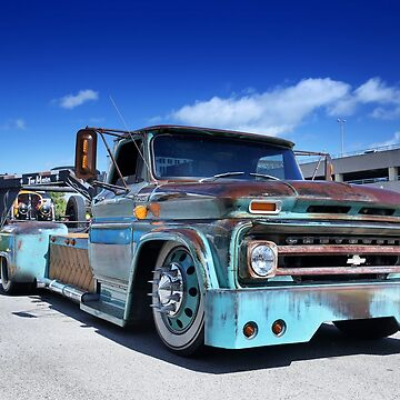 1965 Chevy C-60 Rat Rod - 2 by mal-photography