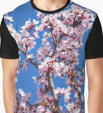 Pink Blossoms, Spain Graphic T-Shirt