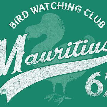 Dodo Bird Watching Club by vonplatypus