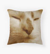King Kat Throw Pillow