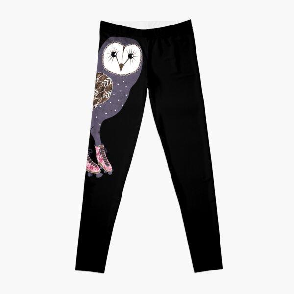 I skate OWL night long Leggings