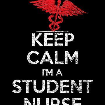 Nurse Do not panic by GeschenkIdee