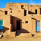 Taos Pueblo Study 9  by Robert Meyers-Lussier