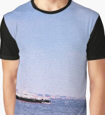 One Morning at Hudson River Graphic T-Shirt