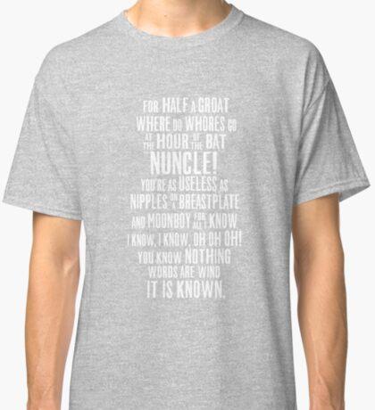 ASOIAF Phrases Classic T-Shirt