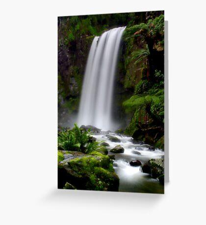 Hopetoun Falls Greeting Card