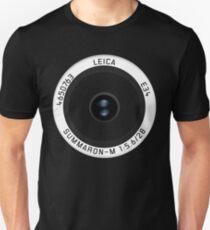 Leica Summaron-M Objektivfotografie - Leica Kamera Slim Fit T-Shirt