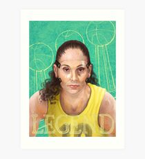 Legend: Sue Bird Art Print