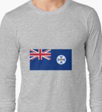 Flag of Queensland Australia Long Sleeve T-Shirt