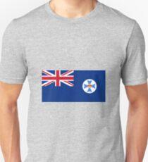 Flag of Queensland Australia Unisex T-Shirt