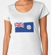 Flag of Queensland Australia Women's Premium T-Shirt