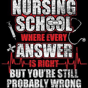 Nurse school by GeschenkIdee