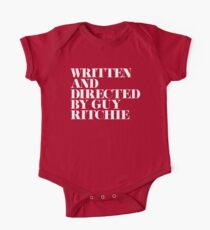 Written and Directed by Guy Ritchie Red/White One Piece - Short Sleeve