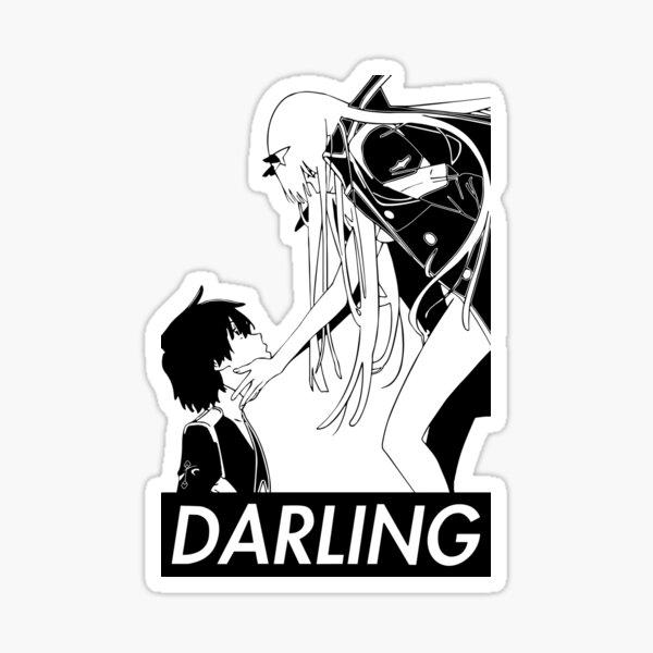 Darling in the Franxx - Baiser de la mort renverser Sticker