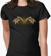 Mechanical Dragon Wings ( Steampunk ) Women's Fitted T-Shirt