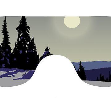 Morning Goggles - White | Goggle Designs | DopeyArt by DopeyArt