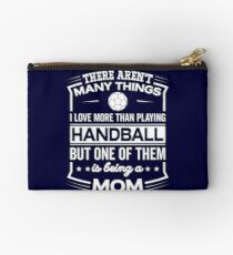Funny I Love Being A Handball Mom Studio Pouch