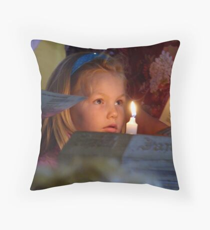 baptism Throw Pillow