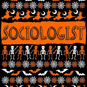 Cool Sociologist Ugly Halloween Gift t-shirt by BBPDesigns