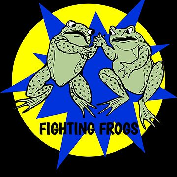 Dumb Fighting Frogs by DogBoo