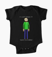 Baldi says You're Incredible! One Piece - Short Sleeve