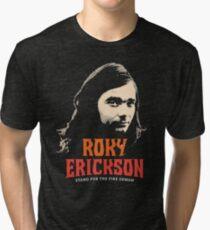 Roky Erickson Tri-blend T-Shirt