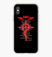 Vinilo o funda para iPhone Fullmetal Heart Red