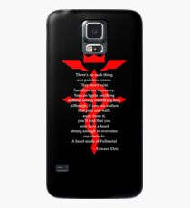 Fullmetal Heart Red Case/Skin for Samsung Galaxy