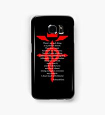 Fullmetal Heart Red Samsung Galaxy Case/Skin