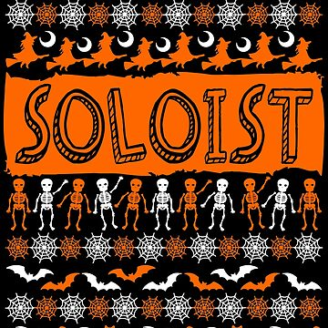 Cool Soloist Ugly Halloween Gift t-shirt by BBPDesigns