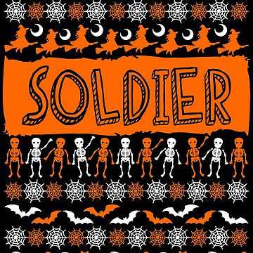 Cool Soldier Ugly Halloween Gift t-shirt by BBPDesigns