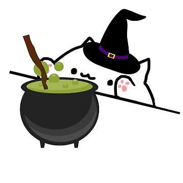 Bongo Cat Witch by adjua