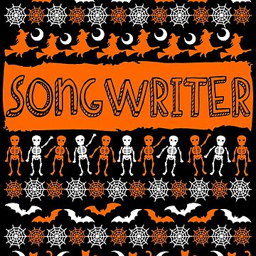 Cool Songwriter Ugly Halloween Gift t-shirt by BBPDesigns