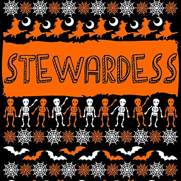 Cool Stewardess Ugly Halloween Gift t-shirt by BBPDesigns