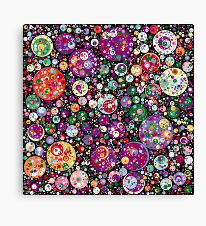 Points on a Circle 016 Canvas Print
