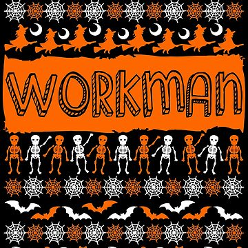 Cool Workman Ugly Halloween Gift t-shirt by BBPDesigns