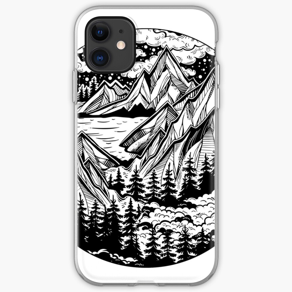 Vintage outdoors nature. iPhone Case & Cover