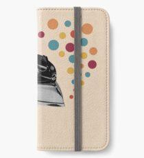 Vintage Eisen iPhone Flip-Case/Hülle/Skin