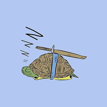 Hatchling Ordinary Ninja Turtles - Leo by TheMVB