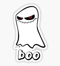 Boo Ghost of Halloween Sticker