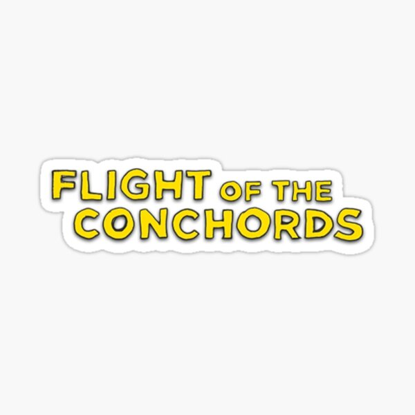 fan art Flight of the Concords robots Pegatina